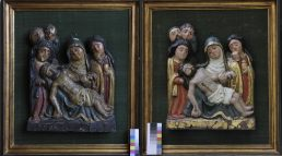 Restauracion bajorrelieve descendimiento estados inicial final